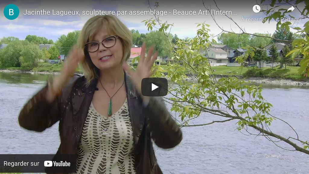 Jacinthe Lagueux, sculpteure - Beauce Art: l'International de la sculpture